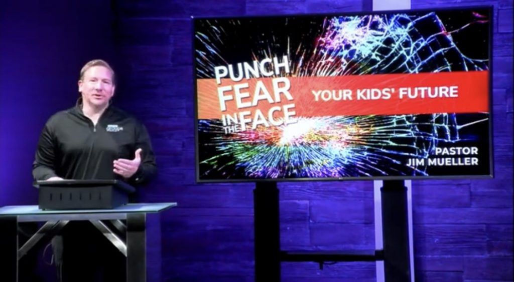 Punch Fear in the Face Worship Series Messiah St. Charles MO