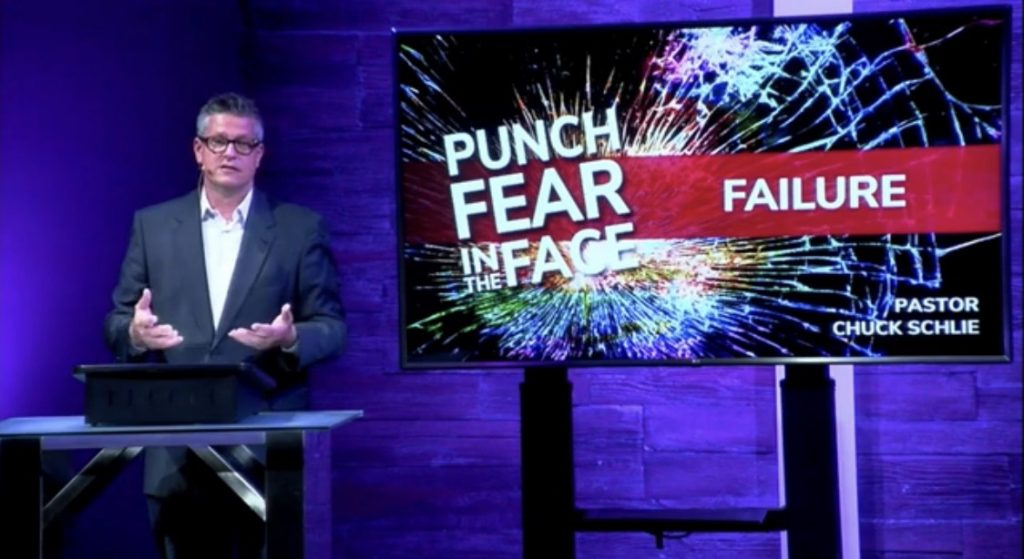 Punch Fear in the Face: Failure