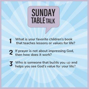 Messiah Table Talk