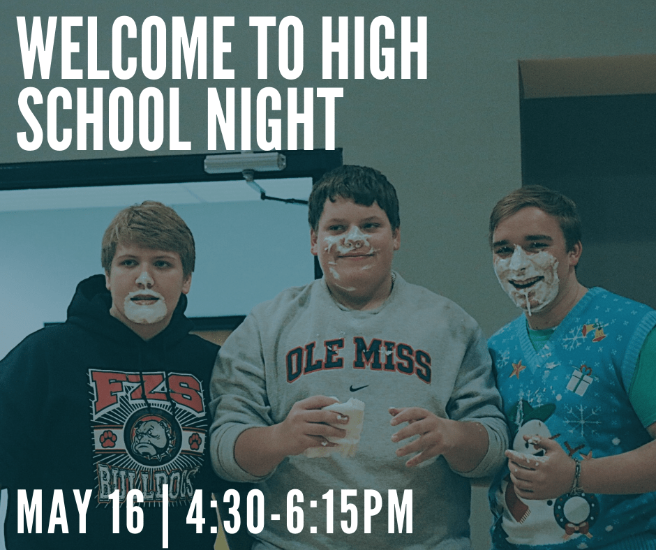 Welcome to High School Night at Messiah St. Charles